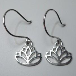 Pendientes flor de loto