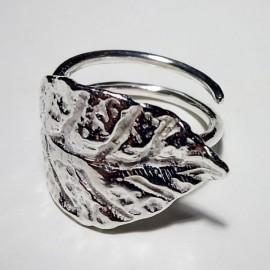 anillo hoja