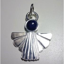 colgante angelito plata