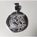 colgante moneda persa