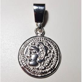 Colgante de plata Moneda Hercules
