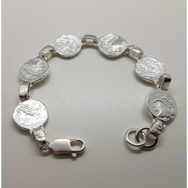 pulsera monedas romanas