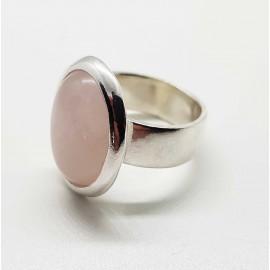 anillo piedra oval