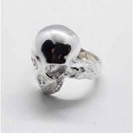 anillo calavera