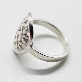 anillo flor de la vida