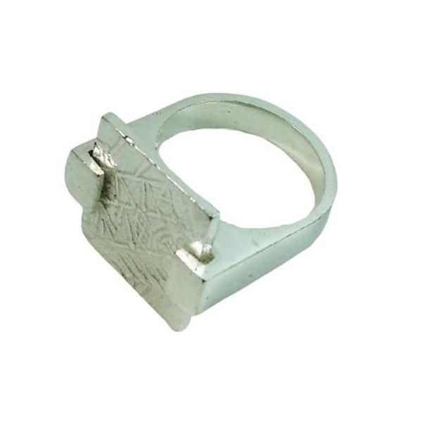 anillo ibero plata