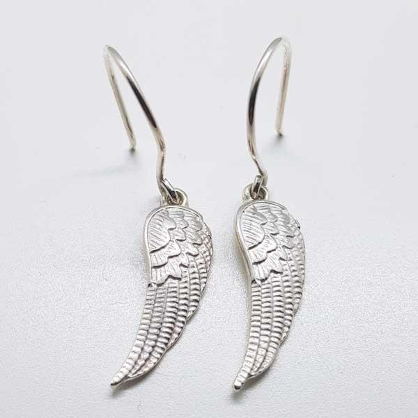 pendientes alas de angel