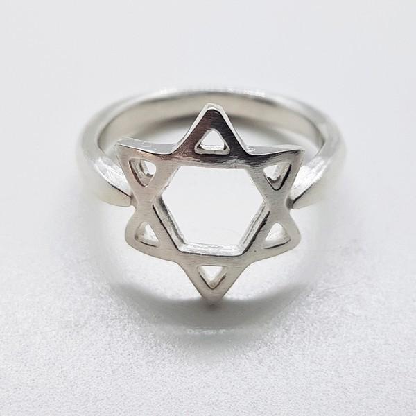 anillo estrella de David