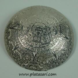 colgante de plata azteca