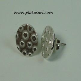 pendientes de plata diseño