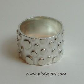 Anillo de plata diseño
