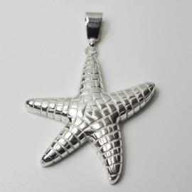 Colgante de plata estrella de mar