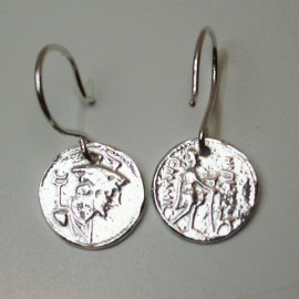 Pendientes moneda Ulises