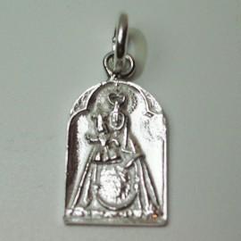 Medalla Virgen del Carmen plata
