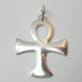 Cruz egipcia amuleto plata