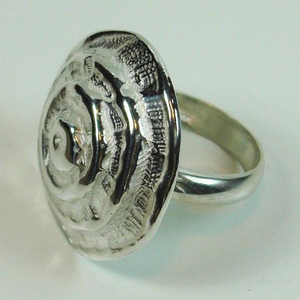 Anillo de plata Espiral.