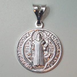 Medalla San Benito plata